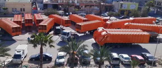 Riada Shipping Garbage-Trailers